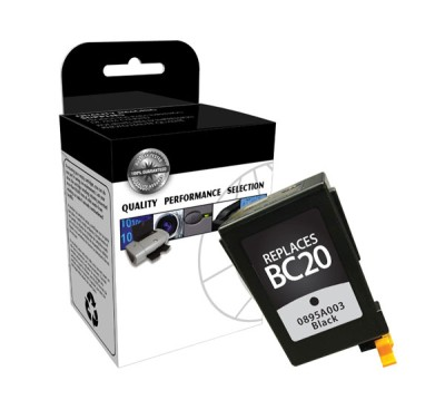 "<img src=""/Images/Recycler.gif"" height=""15"" border=""0"" width=""15""><font color=""#008000""><b>Premium Quality Black Inkjet Cartridge compatible with the Canon (BC-20) 0895A003 (900 page yield)"