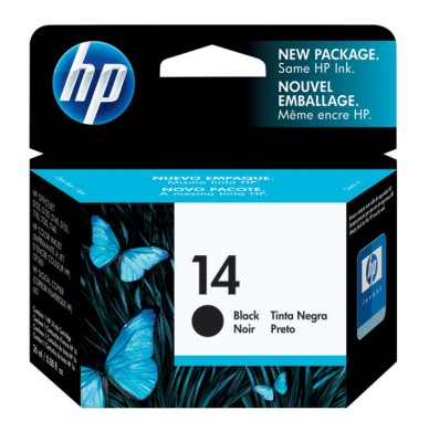 Genuine OEM HP C5011D (HP 14) Black Inkjet Cartridge