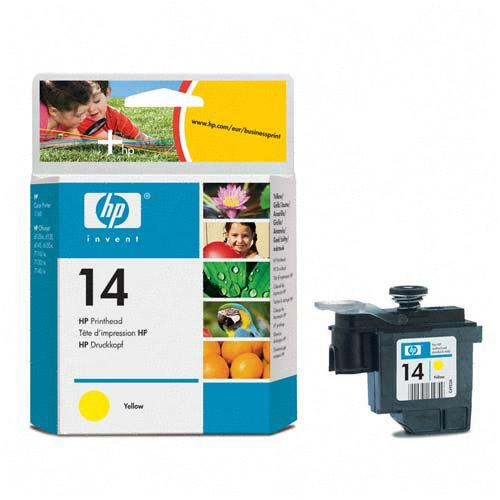 Genuine OEM HP C4923A (HP 14) Yellow Inkjet Cartridge Printhead (8 ml)