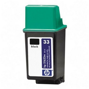 Genuine OEM HP 51633M (HP 33) Black Print Cartridge (30 ml)