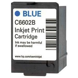 Genuine OEM HP C6602B Blue Inkjet Cartridge (3 pk)