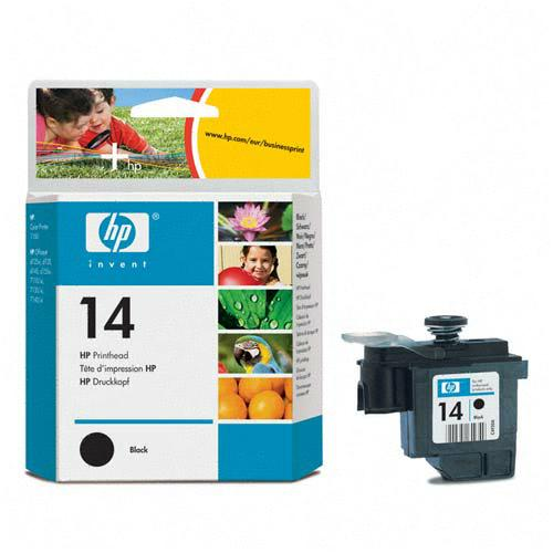 Genuine OEM HP C4920A (HP 14) Black Inkjet Cartridge Printhead (8 ml)
