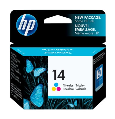Genuine OEM HP C5010D (HP 14) Color Inkjet Cartridge
