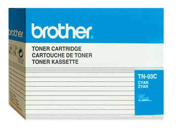 Genuine OEM Brother TN-03C Cyan Toner Cartridge