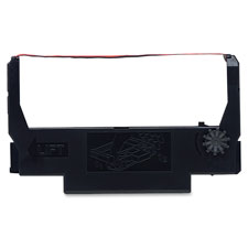 Genuine OEM Epson ERC-38BR Black-Red Fabric Ribbon