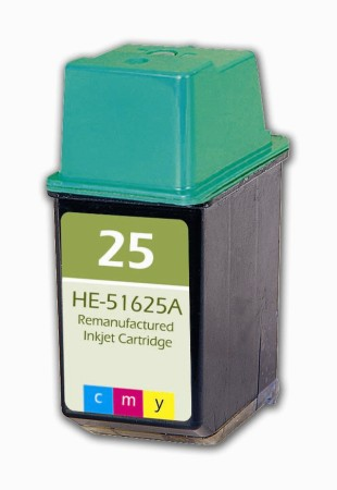 "<img src=""/Images/Recycler.gif"" height=""15"" border=""0"" width=""15""><font color=""#008000""><b>Premium Quality Tri-Color Inkjet Cartridge compatible with the HP (HP 25) 51625A"
