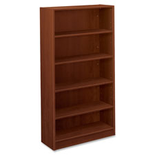 "5-Shelf Bookcase, 32""x13-13/16""x65"", Medium Cherry  (1 EA)"