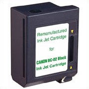 "<img src=""/Images/Recycler.gif"" height=""15"" border=""0"" width=""15""><font color=""#008000""><b>Premium Quality Black Inkjet Cartridge compatible with the Canon (BC-02) 0881A003AA (500 page yield)"