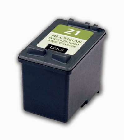 "<img src=""/Images/Recycler.gif"" height=""15"" border=""0"" width=""15""><font color=""#008000""><b>Premium Quality Black Inkjet Cartridge compatible with the HP (HP 21) C9351AN"