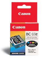 Genuine OEM Canon BC-11E (BC-11E) Color Ink Cartridge