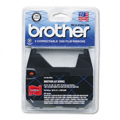 Genuine OEM Brother 1030 Black Correctable Typewriter Ribbon