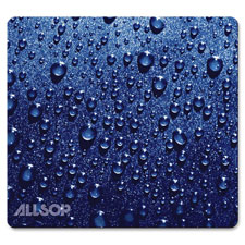 "Mouse Pad, Naturesmart, Raindrop, 8""x8.5"", Blue  (1 EA)"