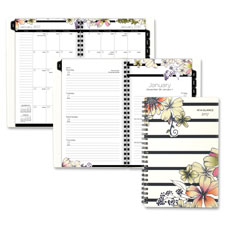 "Wkly/Mthly Planner, 2PPW, 12Mth Jan-Dec, 5""x8"", Ast  (1 EA)"