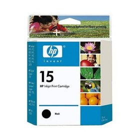 Genuine OEM HP C6615DN (HP 15) Black Inkjet Cartridge (600 page yield)