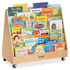 Early Childhood Res. Birch 2-sided Book Display