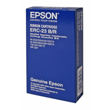 Genuine OEM Epson ERC-23BR Black-Red POS Ribbon (6 pk)